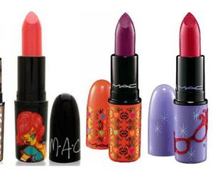 lipstick, mac, and mac cosmetics image