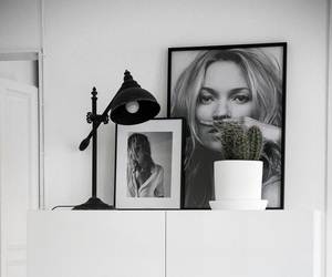 black & white, design, and home image