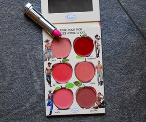 blush, cheeks, and lipstick image