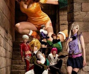 cosplay, nanatsu no taizai, and anime image