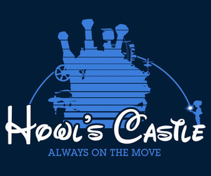 howl's moving castle, disney style, and cute image