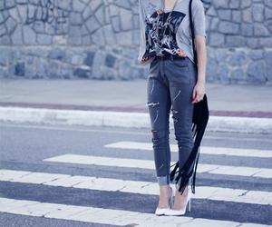 fashion, look, and moda image