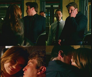 castle, nathan fillion, and stana katic image