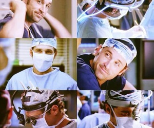 grey's anatomy, derek shepherd, and merder image