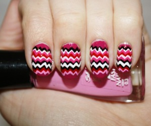 missoni, nail, and nail polish image