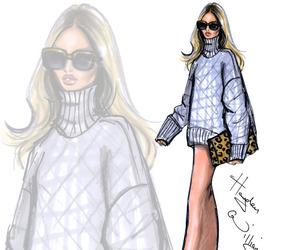 hayden williams, art, and fashion illustration image