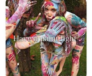 experience, fun, and paint fight image