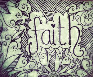 art, painting, and faith image