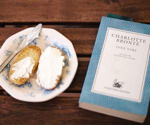 book, food, and vintage image