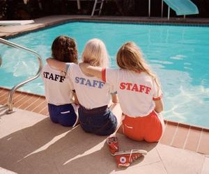vintage, pool, and indie image