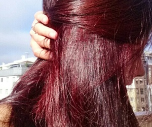 ginger, hair, and red image