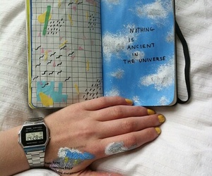 art, grunge, and journal image