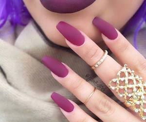 fashion, nail, and girls image