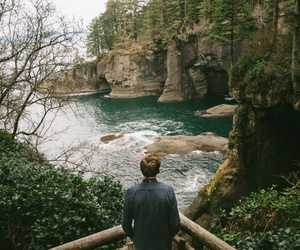 nature, boy, and travel image