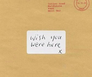 alone, letters, and wish you were here image