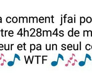 cours, musique, and wtf image