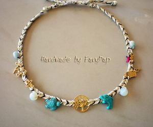 blue, bracelets, and dolphins image