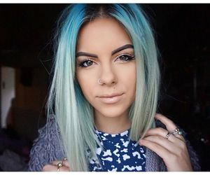 28 images about blonde and blue hair on we heart it see more superthumb urmus Choice Image