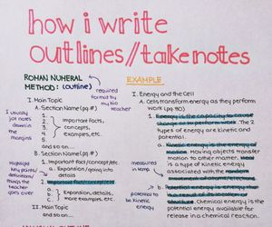 notes, study, and outline image
