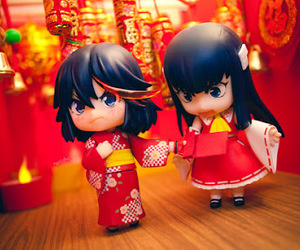 anime, chinese new year, and Figure image