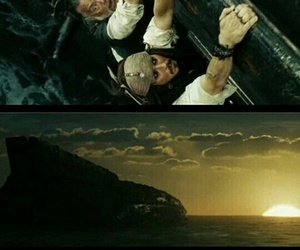 captain jack sparrow, pirates of the caribbean, and potc image
