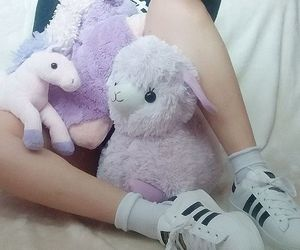adidas, kawaii, and pastel image