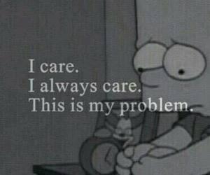 sad, problem, and care image