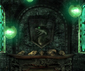 harry potter, slytherin, and lockscreen image