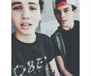 hayes grier, sam pottorff, and boy image