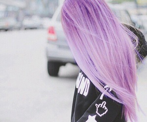 alternative, colored hair, and fun image