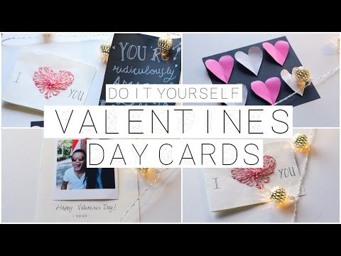 Diy Valentine S Day Cards Youtube On We Heart It