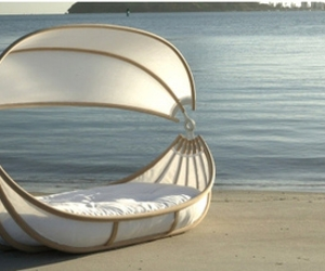 beach, boat, and bed image