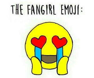 fangirl and emoji image