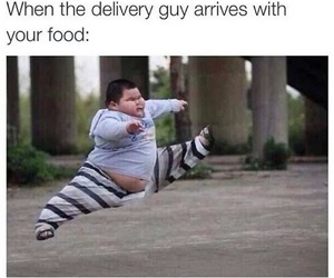 funny, food, and pizza image