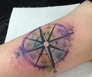 colors, compass, and ink image