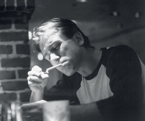 b&w, cigarette, and Tim Roth image