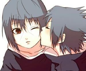 sasuke, itachi, and anime image