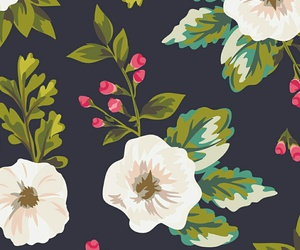 pattern, wallpapers, and pattern flowers image