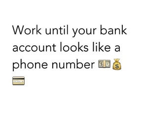 goals, money, and work image