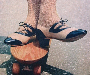 retro, shoes, and vintage image
