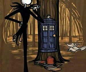 doctor who, tardis, and disney image