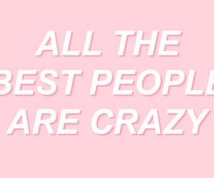 crazy, people, and pink image