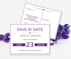 etsy, save the dates, and save the date cards image