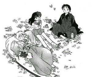 manga and inuyasha image