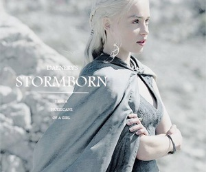 game of thrones, emilia clarke, and khaleesi image