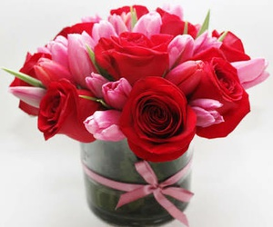 flores, rosas, and arreglo image