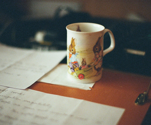 vintage, cup, and hipster image