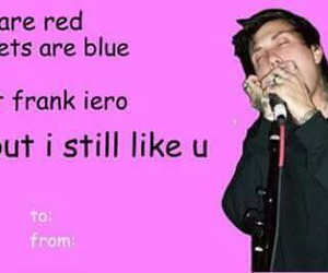 frank iero, funny, and music image
