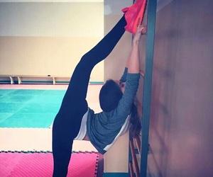 ballerina and gymnastics image