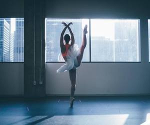 ballerina, dancer, and ballet image